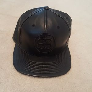 Stussy Leather Snapback